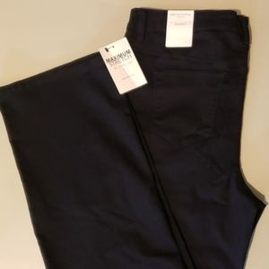Liz Claiborne 18W NWT Stretch dark blue BC jeans